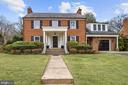 Beautiful brick colonial with 2004 addition - 7600 GLENDALE RD, CHEVY CHASE