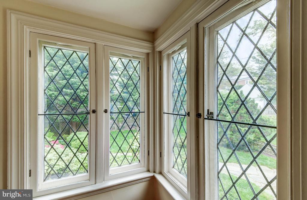 Lead windows authentic to the European influence - 212 GOODALE RD, BALTIMORE