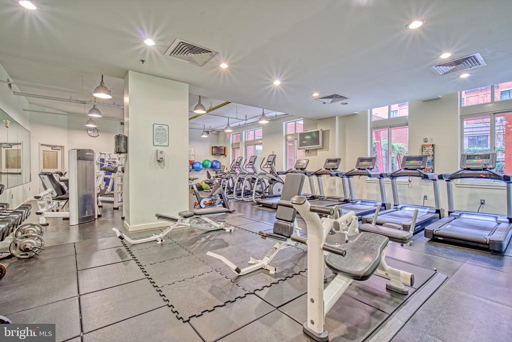 Gym Fitness Room - 1000 NEW JERSEY AVE SE #606, WASHINGTON