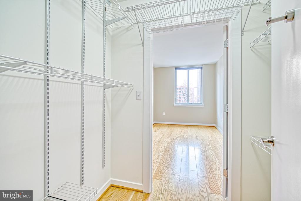 Walk in Closet in Master Suite #2 - 1000 NEW JERSEY AVE SE #606, WASHINGTON