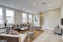 Large bright and sunny living room - 1821 I STREET NE #11, WASHINGTON