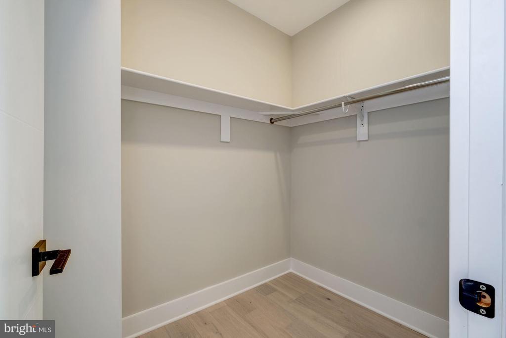 Large walk-in closet - 1821 I STREET NE #11, WASHINGTON