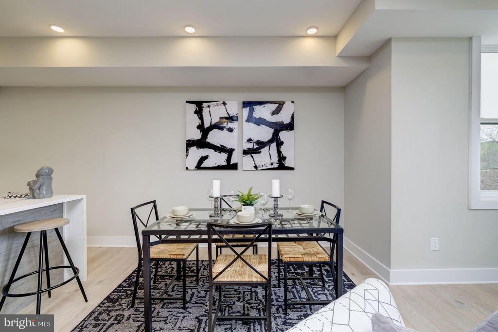Cozy dining room - 1821 I STREET NE #11, WASHINGTON