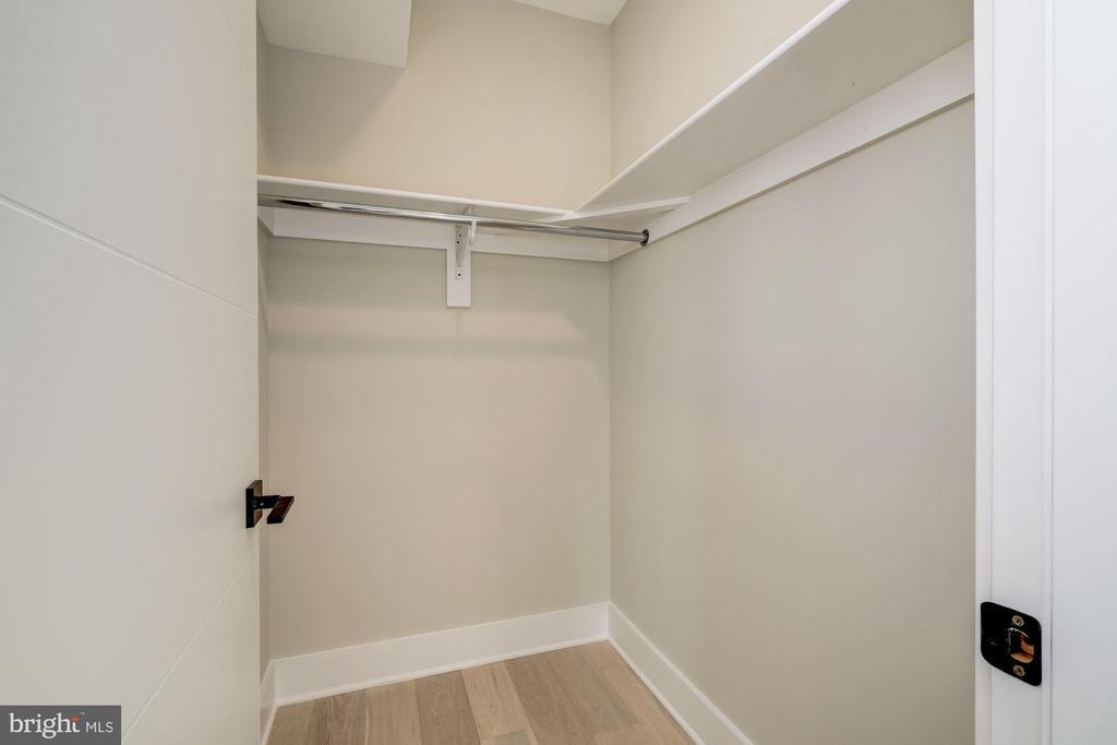Spacious walk-in closet - 1821 I STREET NE #11, WASHINGTON