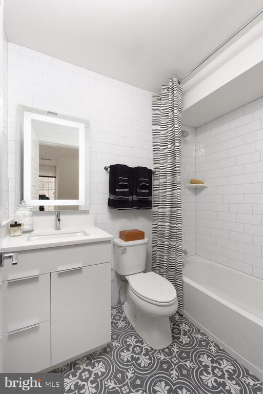 Guest Bath #2 - 1015 D ST NE #A, WASHINGTON