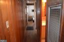 Hallway leads to 2 bedrooms - 5420 BURKITTSVILLE RD, JEFFERSON