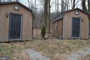 Two new cabins sit on the property - 5420 BURKITTSVILLE RD, JEFFERSON
