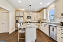 Gourmet Kitchen - 18609 STRAWBERRY KNOLL RD, GAITHERSBURG