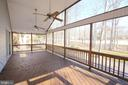 Screened Porch Overlooking Golf Course - 117 GREEN ST, LOCUST GROVE