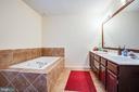Master Bathroom w/ Dual Vanity Sinks - 10101 OLDE KENT DR, SPOTSYLVANIA