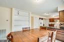 Built in Shelving in Dining Area - 10101 OLDE KENT DR, SPOTSYLVANIA