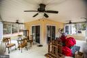 Interior of Wrap Around Porch - 10101 OLDE KENT DR, SPOTSYLVANIA