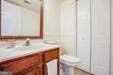 Main Floor Half Bath - 10101 OLDE KENT DR, SPOTSYLVANIA