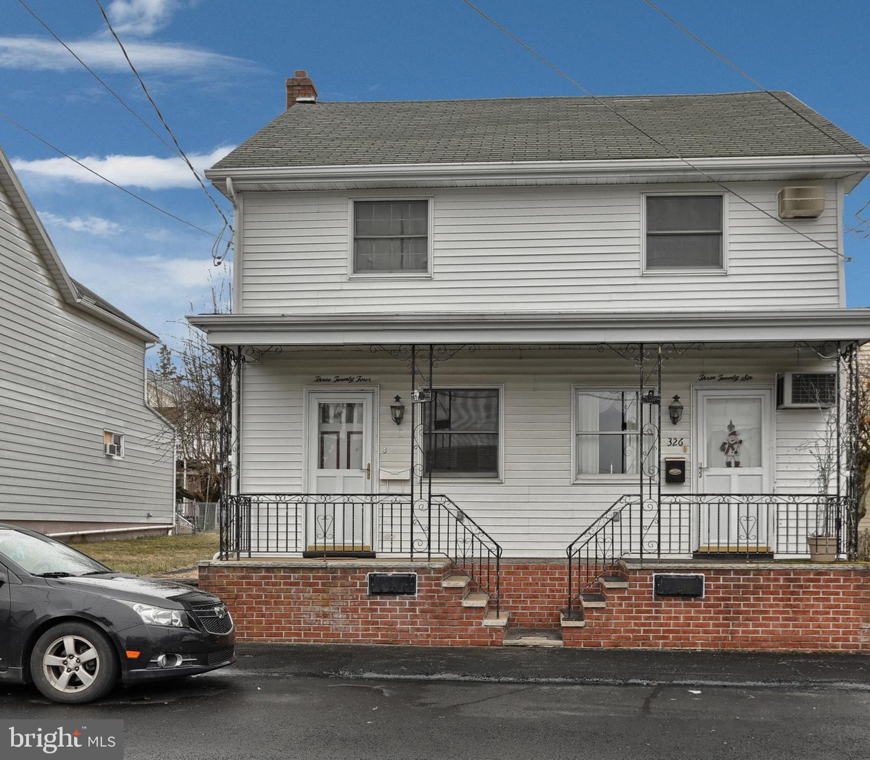 Single Family Homes для того Продажа на Frackville, Пенсильвания 17931 Соединенные Штаты
