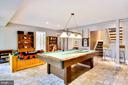 Expansive Lower Level with Recreation/Game Room - 1584 LANCASTER GRN, ANNAPOLIS