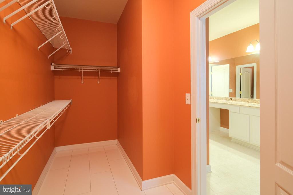 Master bedroom closet (his) - 13299 SCOTCH RUN CT, CENTREVILLE