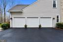 3 car side load garage - 12400 FAIRFAX STATION RD, CLIFTON