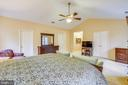 Master bedroom - 12400 FAIRFAX STATION RD, CLIFTON