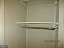 Walk in closet - 555 MASSACHUSETTS AVE NW #202, WASHINGTON