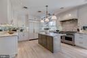 Kitchen - 3210 R ST NW, WASHINGTON