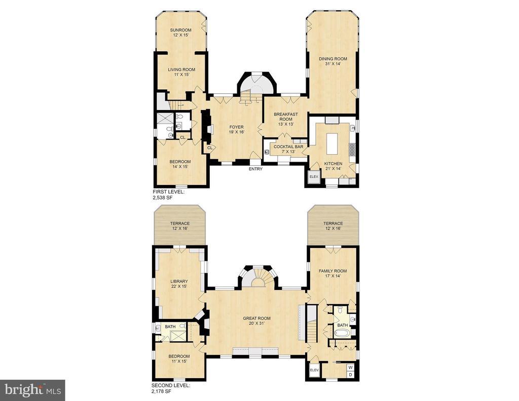 Floorplan - 3210 R ST NW, WASHINGTON