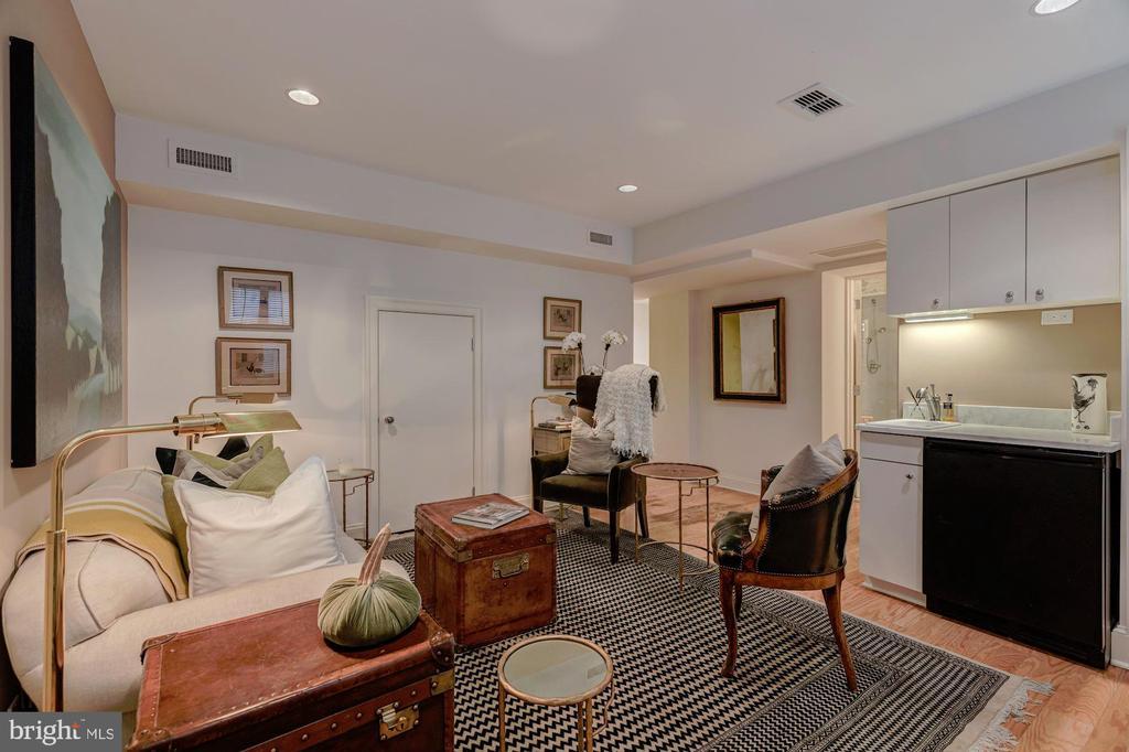 Lower Level Living Room - 3210 R ST NW, WASHINGTON