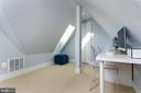Guest Bedroom #3 or home office w full bath - 1015 D ST NE #B, WASHINGTON