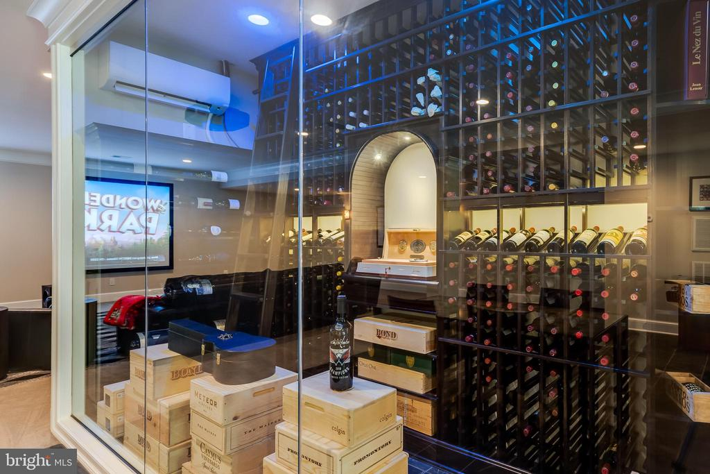Temperature  Controlled Wine Storage - 6704 LUPINE LN, MCLEAN