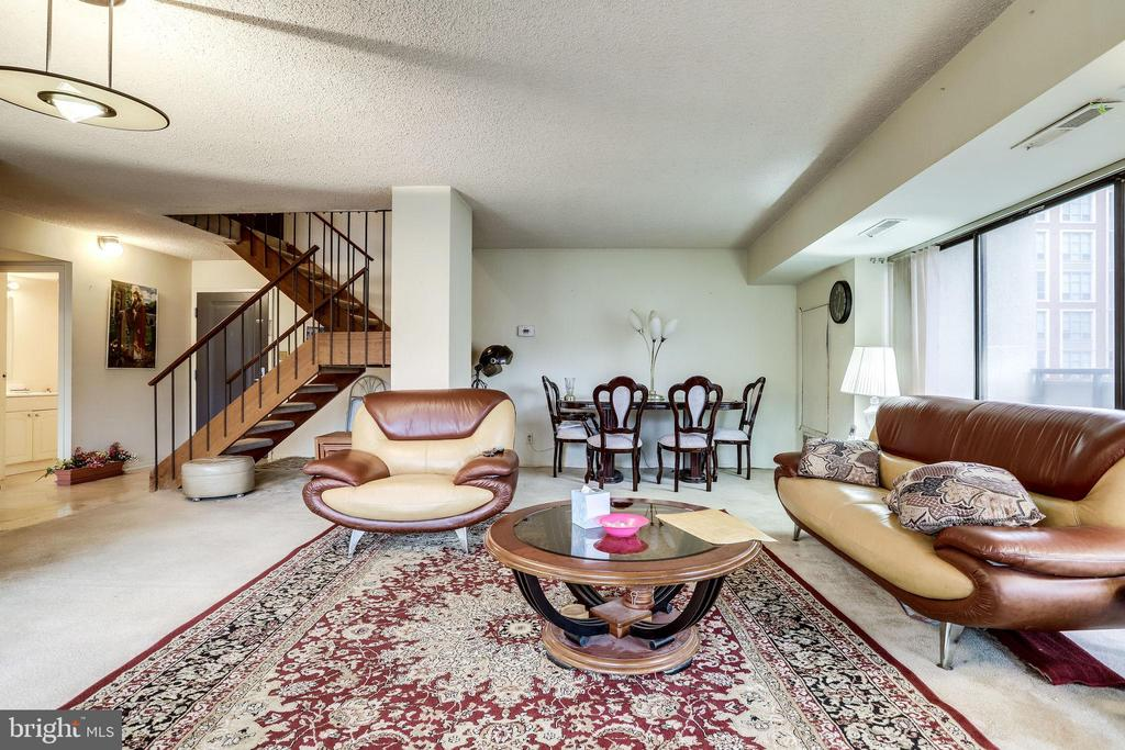 beautiiful living room - 5300 COLUMBIA PIKE #315, ARLINGTON