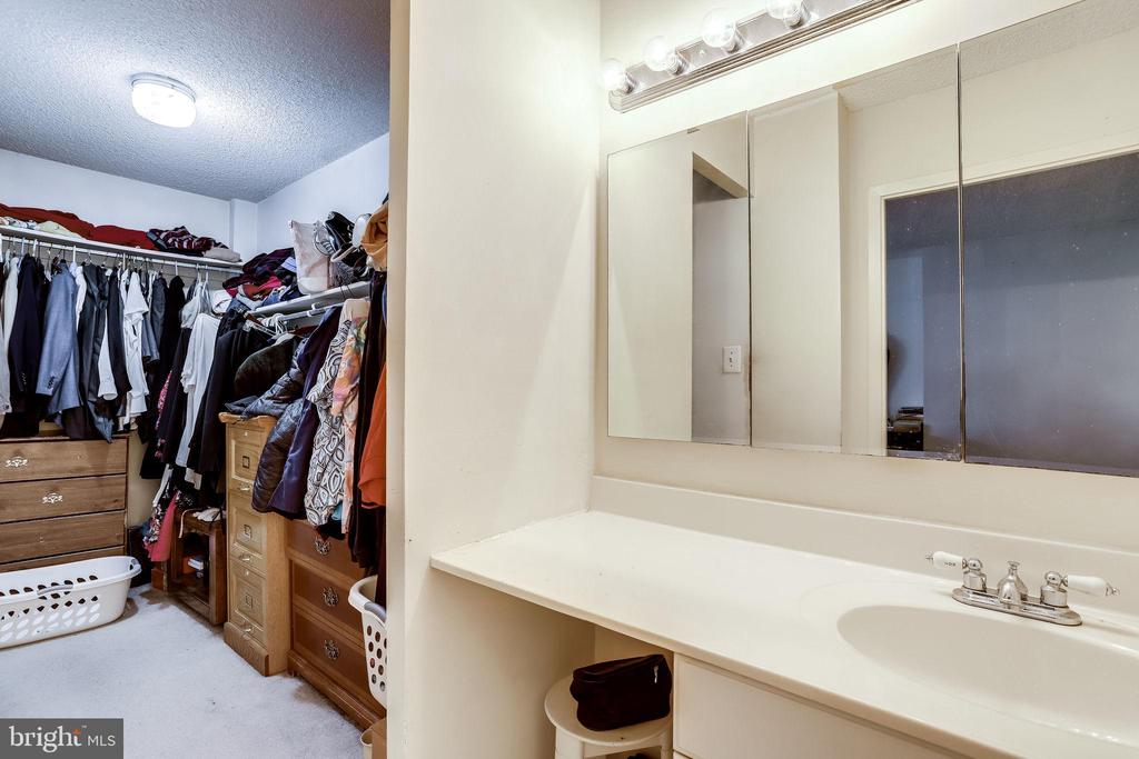 walk in closet - 5300 COLUMBIA PIKE #315, ARLINGTON