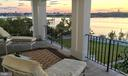 Gorgeous sunsets from private balcony off Master - 1932 CARROLLTON RD, ANNAPOLIS