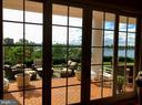 Waterviews from French doors in Kitchen - 1932 CARROLLTON RD, ANNAPOLIS