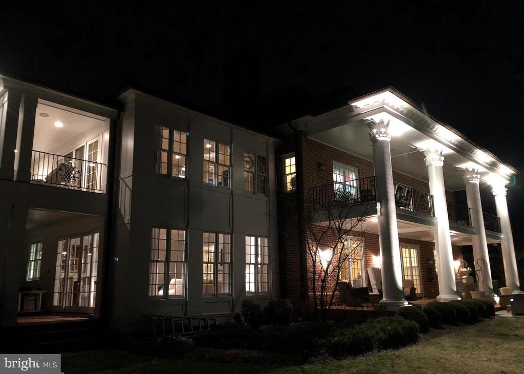 Extensive exterior lighting - 1932 CARROLLTON RD, ANNAPOLIS