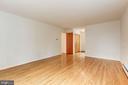 Gleaming hardwood floors - 12901 JESSE SMITH RD, MOUNT AIRY