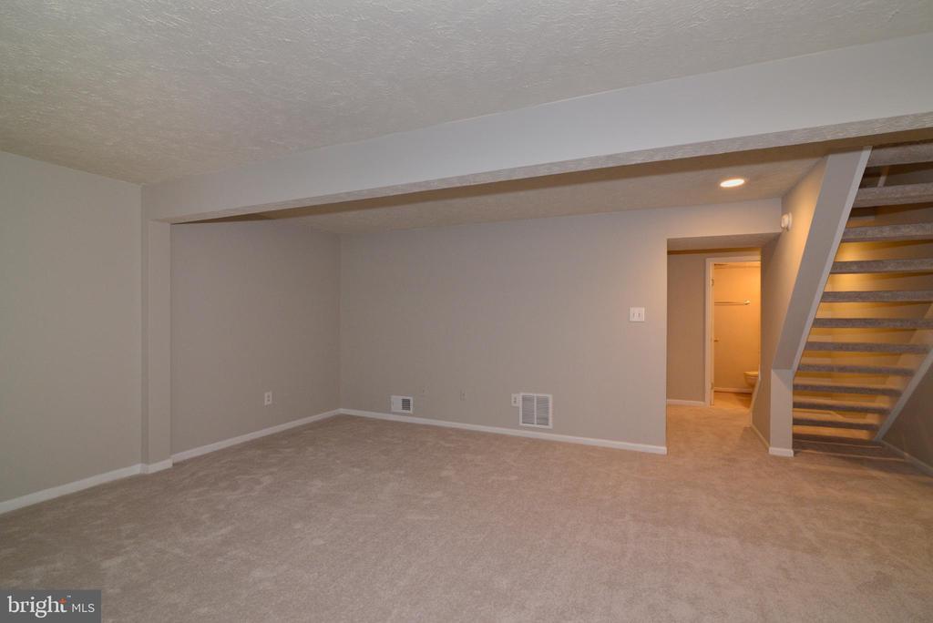 Lower Level Rec Room - 1485 AUTUMN RIDGE CIR, RESTON