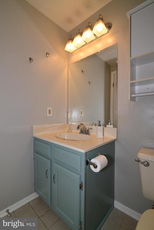 Upper Hall Bath Vanity - 1485 AUTUMN RIDGE CIR, RESTON