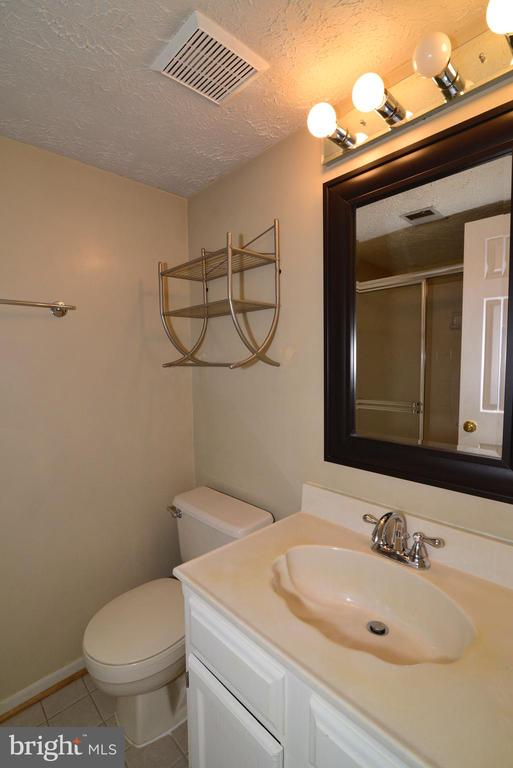 Lower Level Full Bath - 1485 AUTUMN RIDGE CIR, RESTON