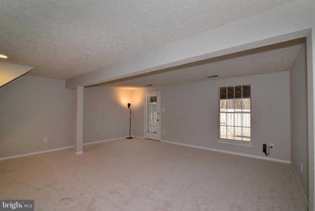 Lower Level Rec Room View #3 - 1485 AUTUMN RIDGE CIR, RESTON