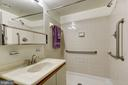 Master Bathroom With Easy Entry Shower - 1951 SAGEWOOD LN #203, RESTON