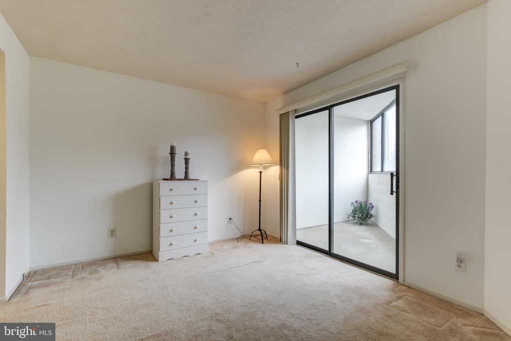 2nd Bedroom with Outdoor Bonus Room - 1951 SAGEWOOD LN #203, RESTON