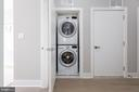 In-unit washer and dryer - 2812 GEORGIA AVE NW #9, WASHINGTON