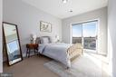 Bedroom 1 w/ private balcony - 2812 GEORGIA AVE NW #9, WASHINGTON