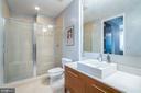 FULL BATH WITH OVER-SIZED SEAMLESS GLASS SHOWER - 12025 NEW DOMINION PKWY #504, RESTON