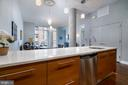 DEEP CABINETS WITH BRUSHED NICKEL DRAWER PULLS - 12025 NEW DOMINION PKWY #504, RESTON