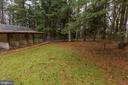 Fenced in area surrounding kennel - 12901 JESSE SMITH RD, MOUNT AIRY
