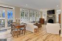 Family with Hickory Hardwood Floors - 7380 CLIFTON RD, CLIFTON