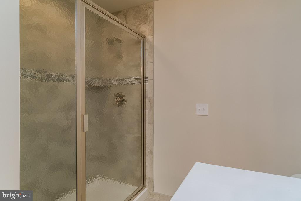 Showing optional glass shower door - 280 ANDERSON RD, FREDERICKSBURG