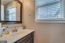 Main Level Half Bath w/ Window - 15805 DICKERSON PL, DUMFRIES