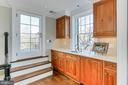 Upper Level Entertaining - 1400 34TH ST NW, WASHINGTON