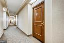 Entry - 7111 WOODMONT AVE #412, BETHESDA